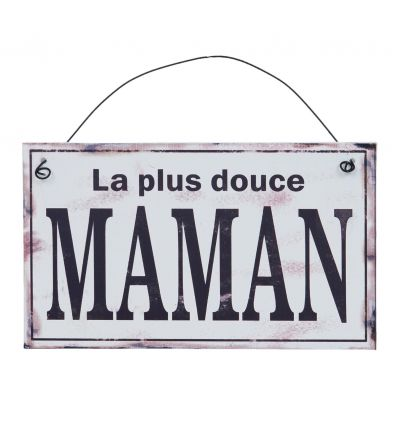 Plaque décorative Douce Maman