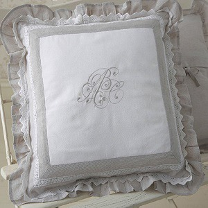 coussin shabby chic