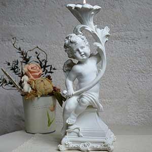 figurine ange baroque