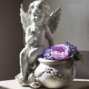 petit--ange-pot-de-fleur