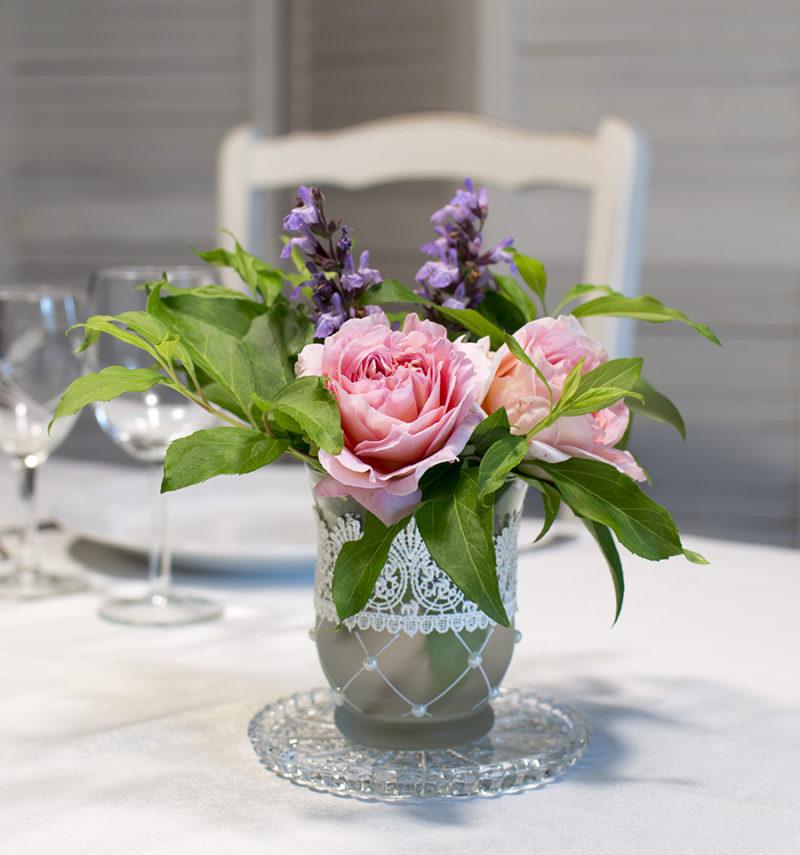 photophore en vase